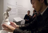 Touching Art: Louvre's Sculptures in Movement