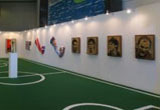 One- An Exhibition of Art & Football by Otto Li
